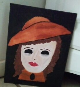 Authentic Haunted Witch Painting ( Unknown)