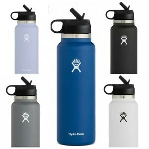 32oz Hydro Flask 2.0 Wide Mouth with Straw Lid - FREE SHIPPING