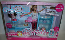 Barbie & Kelly Dolls I Can Be Cake Baker Giftset Mattel 2006 NEW Damage Box
