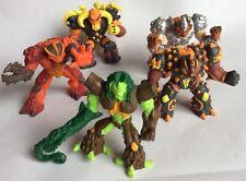 GORMITI – 5 X Figuras De Acción/Play Set-GIOCHI PREZIOSI