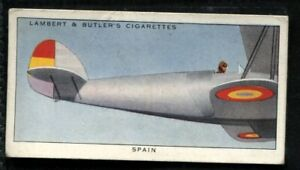 Lambert Butler, AEROPLANE MARKINGS, 1937, Spain Spanish Air Force, #40