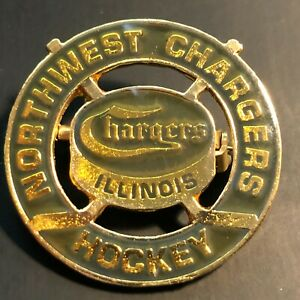 Northwest Chargers Illinois Hockey Pin  Premier Travel Youth Club Chicago IL VTG
