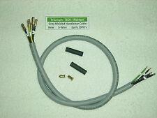 TRIUMPH,BSA,Norton Gray Moldeado Interruptor Del Manillar 5- Cable 1971-75