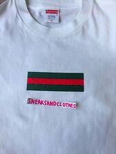 Supreme x gucci box logo t shirt taille xl 100% authentique de 2000 cdg