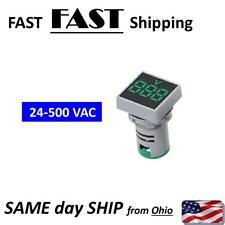 Ac Voltage Meter Led Ac Voltmeter Digital Volt Meter Flat Panel Mount