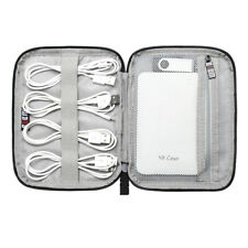 Portable Electronic Accessories Cable USB Organizer Mini Bag Storage Holder Case