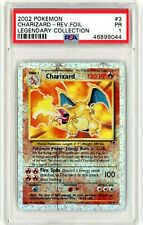 PSA 1 PR - Charizard 3/110 (Legendary Collection) Reverse Holo Rare Pokemon Card
