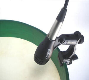 REPAIR PROJECT BODHRAN MICROPHONE & CLAMP KIT ALSO FOR SNARE OR HAND DRUM