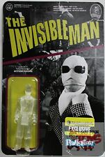 "FUNKO THE INVISIBLE MAN CLEAR UNIVERSAL MONSTERS Reaction EXCLUSIVE 3.75"" 2014"