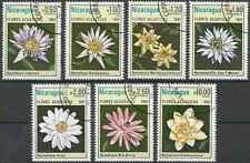Timbres Flore Nicaragua 1155/60 PA965 o lot 18134