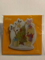 Disney Japan Christmas Prize Novelty 2019 Winnie The Pooh Piglet Disney Pin (B)