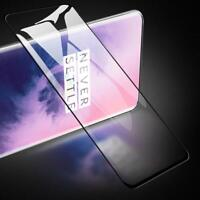 1Pack For OnePlus 7 Pro 9H Full Cover 3D Curved Tempered Glass Screen Protector