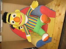 Sesamstrasse - Bert Figur - Sessel und Puppe - Groß