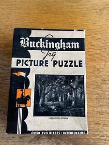 """Buckingham Jig Picture Puzzle - """"Gorgeous Autumn"""" (1930's?, difficult)"""