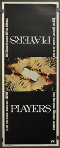 PLAYERS / THE CLUB 1979 ORIGINAL 14X36 ROLLED MOVIE POSTER GRAHAM KENNEDY