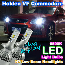 LED Light Bulbs to suit Holden/HSV VF Commodore Low Beam (H7 6500K 'HID White')