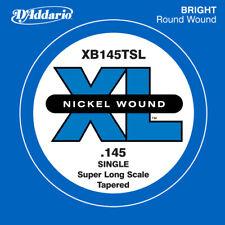D'ADDARIO XB145TSL SINGLE LOW 'B' NICKEL BASS STRING - .145 SUPER LONG, TAPERED