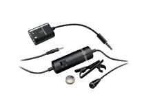 NEW AUDIO-TECHNICA ATR3350iS OMINIDIRECTIONAL CONDENSER LAVALIER MICROPHONE