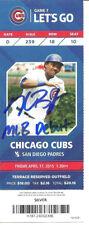 Kris Bryant Autographed MLB Debut Ticket Chicago Cubs 4/17/15 ! Fanatics