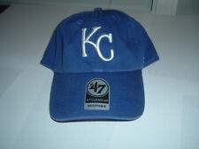 NWT 47 CLEAN UP KANSAS CITY ROYALS BLUE DAD CAP STRAPBACK MLB WORLD SERIES CHAMP