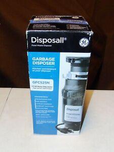 GFC525N GE Disposall Garbage Food Waste Disposer 1/2 HP BRAND NEW SEALED