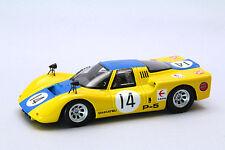 EBBRO 44379 1:43 Daihatsu P-5 1968 Japan GP #14 resin model Yellow / Blue