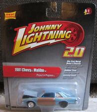 1:64 Johnny Lightning Project in Progress '81 Chevy Malibu Preproduction