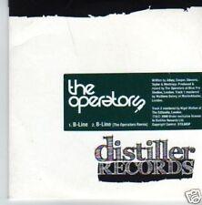 (242P) The Operators, B-Line - DJ CD