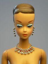 Barbie Repro Vintage FR Handmade Necklace Earrings Rhinestone Jewelry NE100013