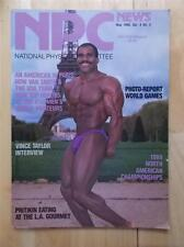 NPC NEWS bodybuilding muscle magazine/VAN SMITH/Vince Taylor interview 5-90