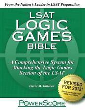LSAT Logic Games Bible : A Comprehensive System for Attacking the Logic Games Se