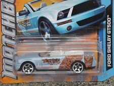 "Matchbox 2012 #016/120 FORD SHELBY GT500 ""TIKI WAI"" surf magasin bleu clair"