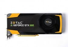 NVidia GTX 680 4GB Zotac / Apple Mac Pro Upgrade Kit 4K Video Card / CUDA OpenCL
