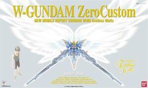 BANDAI PG 1/60 Gundam plastic Model XXXG-00W0 Wing Gundam Zero Custom AU STOCK