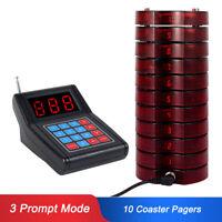 Retekess SU-668 Wireless Paging System 10* Pagers for Church Nursery Restaurant