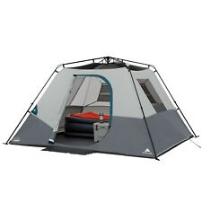6 Person Instant Tent Camping Waterproof Family Outdoor Cabin With Led Light
