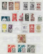 19 Mexico Stamps from Quality Old Antique Album 1938-1940