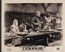 Elizabeth Taylor George Sanders in  Ivanhoe 1952 vintage movie photo 25386