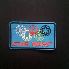 Star Wars Alliances Embroidered Patches Iron On Appliqué