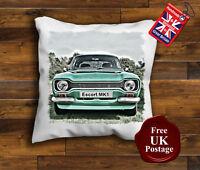 Escort MK1, Cushion Cover, Design Choice of sizes Handmade
