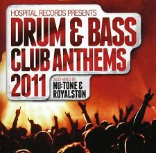 Hospital Records Dru - Hospital Records Drum & Bass Club Anthems 2011 [New CD]
