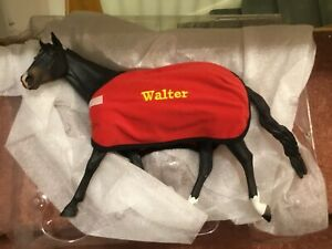Resin horse model . Traditional  sized WALTER horse model