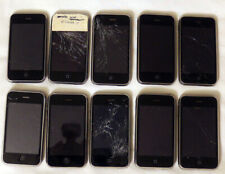 lot of 10 Apple iPhone 3G, 8GB, Black, model: A1241, for Parts