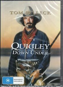 QUIGLEY Down Under DVD Starring Tom Selleck NEW & SEALED Free Post