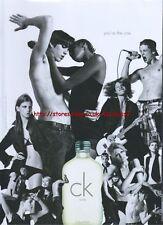 Calvin Klein CK One Fragrance 2006 Magazine Advert #801