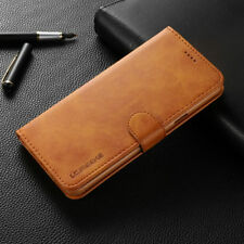 For Samsung s21 S10+ S9 S8 A51 NOTE 10 Deluxe Magnetic Leather Wallet Case Cover