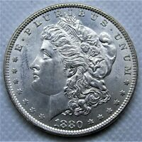 Uncirculated 1880 Morgan Silver Dollar. BU with great luster and appearance!
