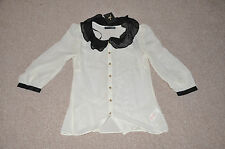 Atmosphere Primark ladies white top NEW with TAGS (UK8)
