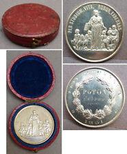 PER STUDIUM Médaille argent massif datée 1891 avec écrin silver medal