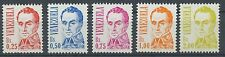 Venezuela 1986 MNH Set   Scott #1362-1366   Bolivar